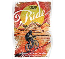 Ride...until the sun sets Poster