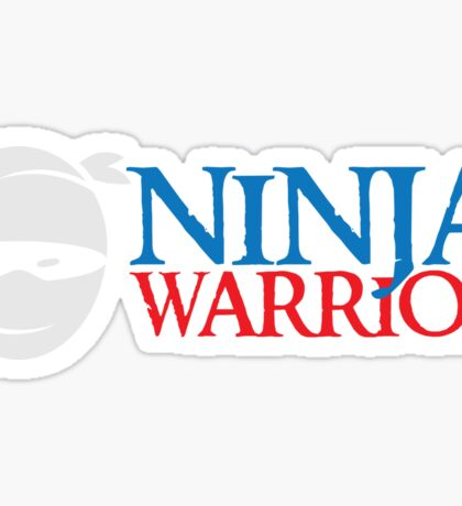 Ninja Warrior  Sticker