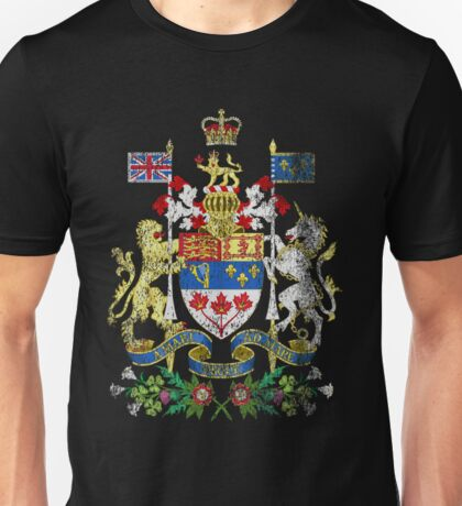 Canadian Coat of Arms Canada Symbol Unisex T-Shirt