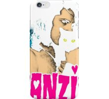 DANZIG Black Cat T-Shirt THE MISFITS iPhone Case/Skin