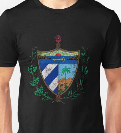 Cuban Coat of Arms Cuba Symbol  Unisex T-Shirt