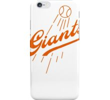 Giants Re-Imagined (Dodgers) iPhone Case/Skin