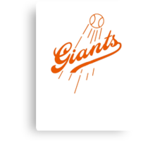 Giants Re-Imagined (Dodgers) Canvas Print