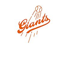 Giants Re-Imagined (Dodgers) Photographic Print
