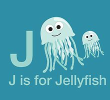 J is for Jellyfish by Eggtooth