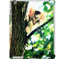 Kitten into the woods iPad Case/Skin