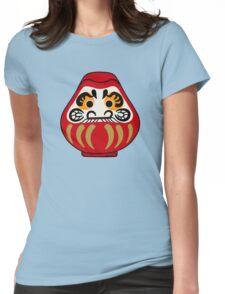 Cute Daruma doll Womens Fitted T-Shirt
