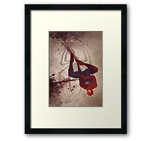 The Amazing Spiderman Framed Print