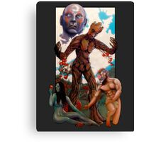 "Guardians Of Eden or ""Guarden"" Of Eden Canvas Print"