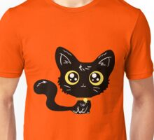Adorable Black Cat Unisex T-Shirt