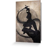 Catwoman Greeting Card