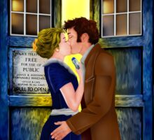 The last kiss from the Doctor Sticker