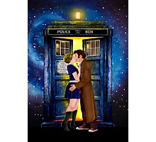 The last kiss from the Doctor Photographic Print