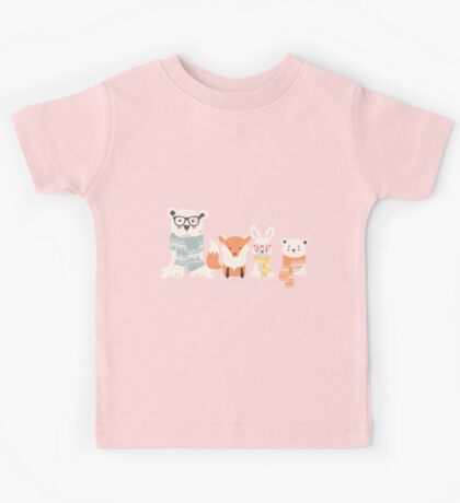 Christmas animal pattern, 002 Kids Tee