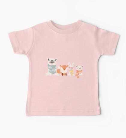 Christmas animal pattern, 001 Baby Tee