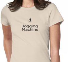 Jogging Machine - Jogger T-Shirt Jog Sticker Womens Fitted T-Shirt