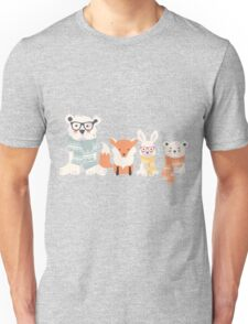 Forest friends Unisex T-Shirt