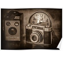 Time to take Photographs Poster