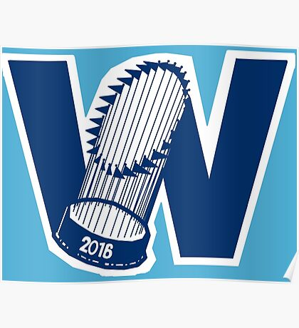 Fly The W - World Series Poster