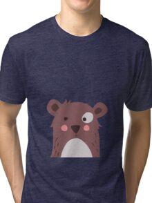 Brown bear Tri-blend T-Shirt