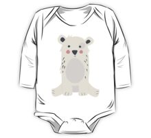 Cute polar bear One Piece - Long Sleeve