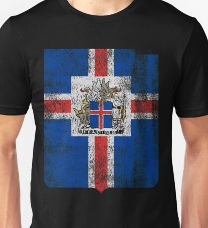 Icelanders Coat of Arms Iceland Symbol Unisex T-Shirt