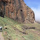 Hiking the Drakensberg by Ludwig Wagner