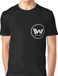 Westworld - Small White Logo Graphic T-Shirt