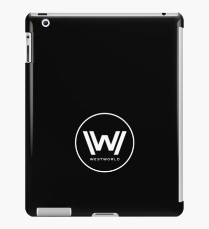 Westworld - Small White Logo iPad Case/Skin