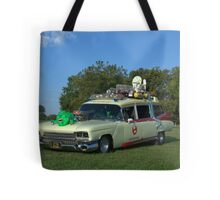 1959 Cadillac Ambulance Ghostbusters Car replica Tote Bag