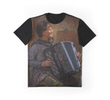 The street musician Graphic T-Shirt