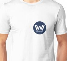 Westworld - Small Blue Logo Unisex T-Shirt