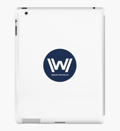 Westworld - Small Blue Logo iPad Case/Skin