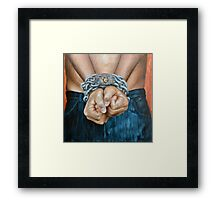Bound World Framed Print