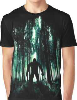 Forest Monster Graphic T-Shirt