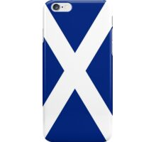 Scottish Independence Flag Scotland T-Shirt iPhone Case/Skin
