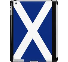 Scottish Independence Flag Scotland T-Shirt iPad Case/Skin