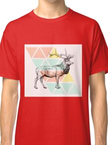 Abstract Elk Classic T-Shirt