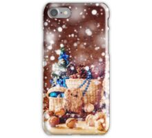 Christmas with Hand Made Toys and Presents iPhone Case/Skin