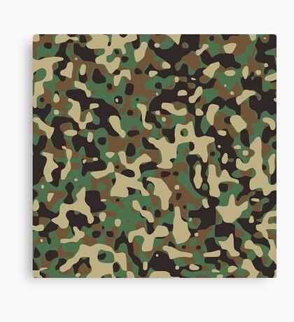 Army Look Canvas Print