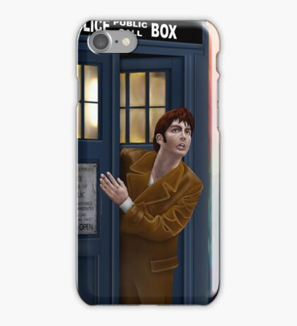 sneak peek from blue box iPhone Case/Skin
