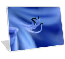 Blue Flower Laptop Skin