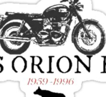 Sirius Orion Black Sticker