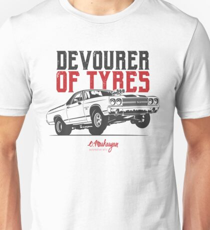 Devourer of tyres. Chevy El Camino SS Unisex T-Shirt