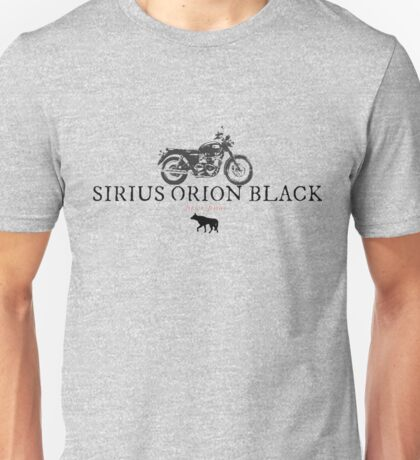 Sirius Orion Black Unisex T-Shirt