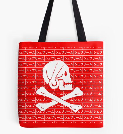 Henry Every pirate flag x Japanese box logo   Tote Bag