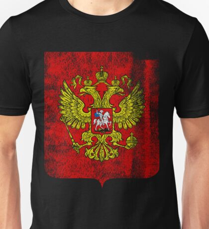 Russian Coat of Arms Russia Symbol Unisex T-Shirt