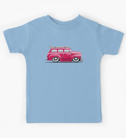 Cartoon retro van Kids Tee