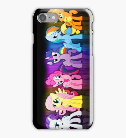 Pony TOP iPhone Case/Skin