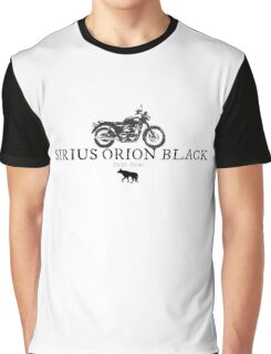 Sirius Orion Black Graphic T-Shirt